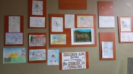 Таланти в изобразителното изкуство - Средно училище Отец Паисий, Куклен