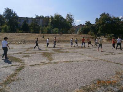 Европейски ден на спорта в училище 27 септември 2019 - Средно училище Отец Паисий, Куклен