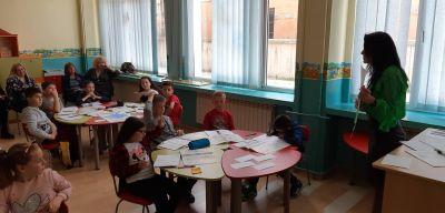 Открит урок по Български език и литература в начален етап - Средно училище Отец Паисий, Куклен