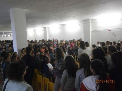31 октомври 2019г. - отбелязване деня на Народните будители - Средно училище Отец Паисий, Куклен