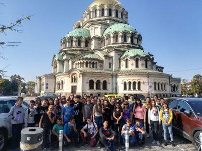 Есенна екскурзия на учениците 5 – 7 клас до град София - Средно училище Отец Паисий, Куклен