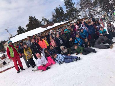 На ски през януари и февруари 2020 - Средно училище Отец Паисий, Куклен