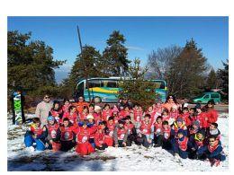 Ски училище през февруари 2018 година - Средно училище Отец Паисий, Куклен