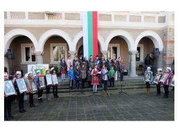 Национален празник на България - Средно училище Отец Паисий, Куклен
