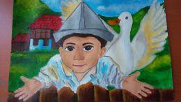 Изложба на Рафаела Панайотова 7 - Средно училище Отец Паисий, Куклен