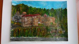 Изложба на Рафаела Панайотова 9 - Средно училище Отец Паисий, Куклен
