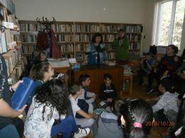 Седмица на четенето - Средно училище Отец Паисий, Куклен