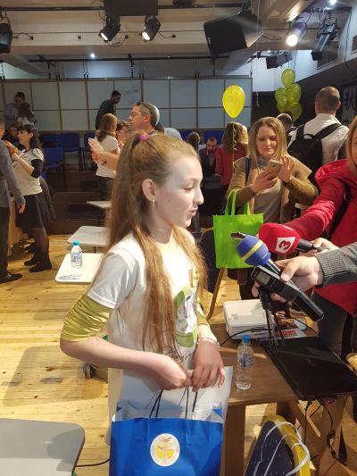 Повод за гордост - Национално състезание по правопис 2 - Средно училище Отец Паисий, Куклен