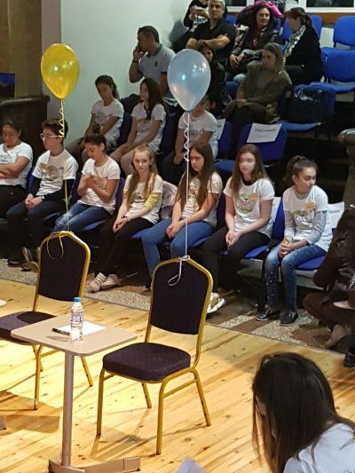 Повод за гордост - Национално състезание по правопис 3 - Средно училище Отец Паисий, Куклен