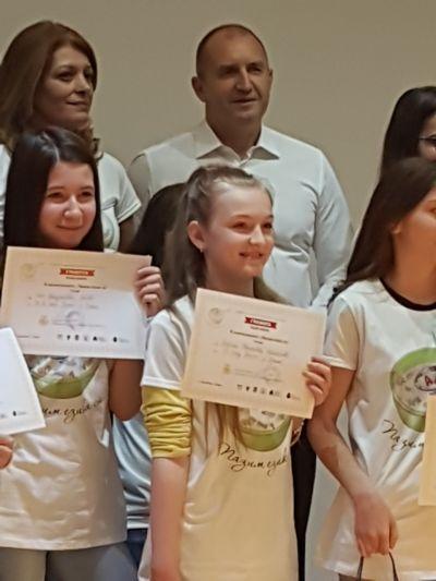 Повод за гордост - Национално състезание по правопис 4 - Средно училище Отец Паисий, Куклен