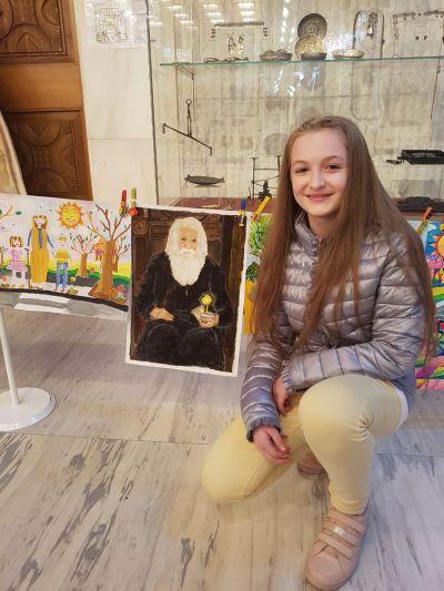 Конкурс за рисунка-Символ на доброто - Средно училище Отец Паисий, Куклен