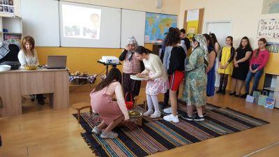 Отклит урок по Български език и литература - 29.03.2019г. - Средно училище Отец Паисий, Куклен