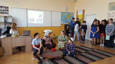 Открит урок по БЕЛ - Средно училище Отец Паисий, Куклен