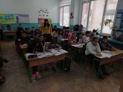 Приемственост 6 на урок по английски език в пети клас - Средно училище Отец Паисий, Куклен