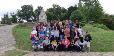 Екскурзия до Велико Търново на 4б клас  - Средно училище Отец Паисий, Куклен