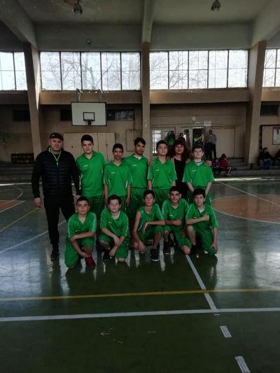 Областния кръг на ученическите игри по баскетбол 1 - Средно училище Отец Паисий, Куклен