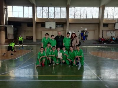 Областния кръг на ученическите игри по баскетбол - Средно училище Отец Паисий, Куклен