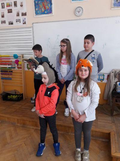 Седмицата на четенето от 13 май до 17 май 2019 - Средно училище Отец Паисий, Куклен
